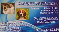 Cabinetul veterinar Cusai Dan Laurentiu